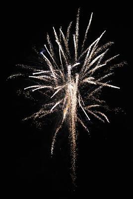 Flash Works Digital Art - Canada Day Fireworks by Richard Andrews
