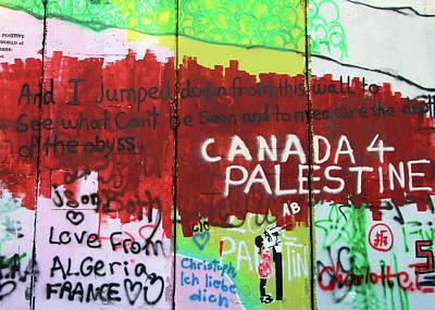 Photograph - Canada For Palestine by Munir Alawi