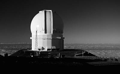 Art Print featuring the photograph Canada France Hawaii Telescope 1 by Gary Cloud