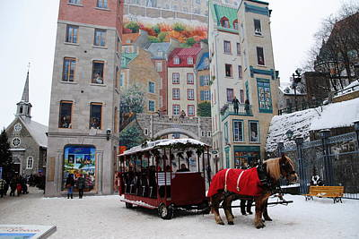 Photograph - Canada - Historic Old Quebec by Jacqueline M Lewis