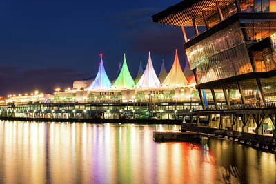 Photograph - Canada Place by Nebojsa Novakovic