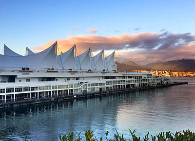 Photograph - Canada Place by Pat Moore