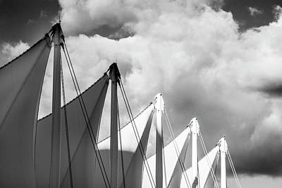 Photograph - Canada Place Sails by Ross G Strachan