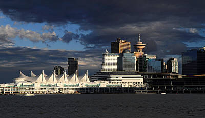 Canada Place Vancouver City Art Print by Pierre Leclerc Photography