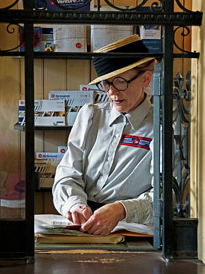 Photograph - Canada Post by Inge Riis McDonald
