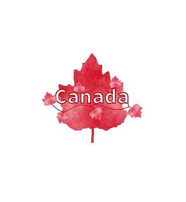 I Love America Digital Art - Canada Proud by Kathleen Sartoris