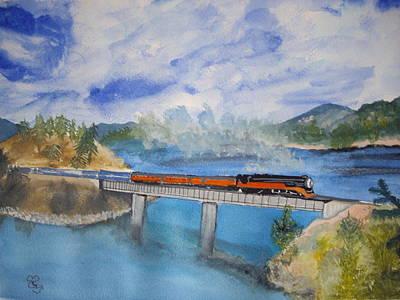 Canada Railway Art Print