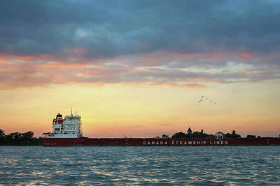 Photograph - Canada Steamship Lines by Lori Deiter