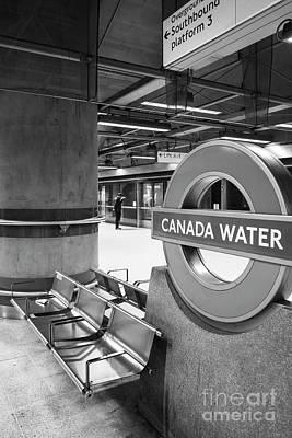 Canada Water Art Print