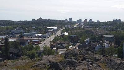 Photograph - Canada - Yellowknife Township In Summer by Jeffrey Shaw
