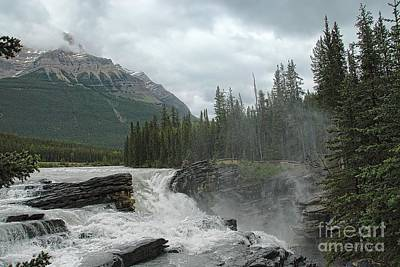 Photograph - Canada's Athabasca Falls by Dyle Warren