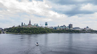 Photograph - Canada's Capital City by Josef Pittner
