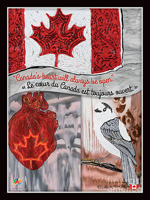 Painting - Canada's Heart  by Sheila McPhee