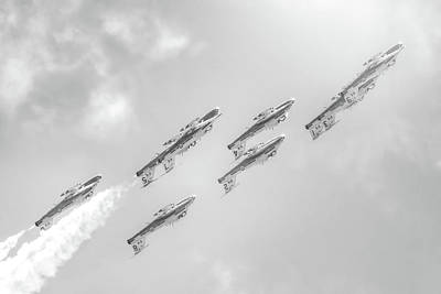 Photograph - Canadian Armed Forces Snowbirds by Mark Andrew Thomas