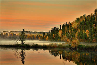 Photograph - Canadian Autumn Sunrise by Pixabay