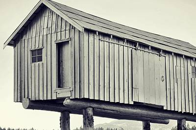 Photograph - Canadian Cabin by JAMART Photography