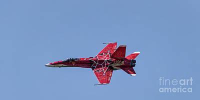 Photograph - Canadian Cf-18 Demo Team by Brad Allen Fine Art