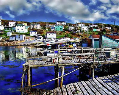 Photograph - Canadian Coastal Scene by Anthony Dezenzio