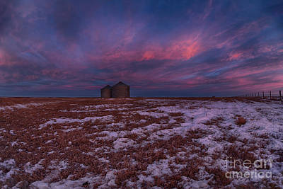 Bins Photograph - Canadian Dawn by Ian McGregor
