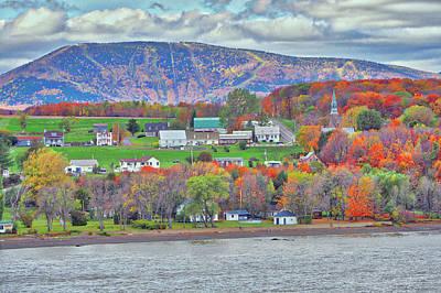 Photograph - Canadian Fall Foliage by Farol Tomson