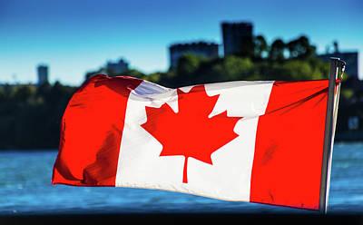 Photograph - Canadian Flag by Mariusz Czajkowski