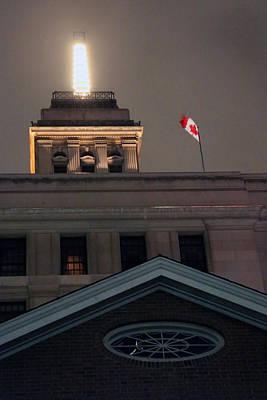 Photograph - Canadian Flag by Munir Alawi