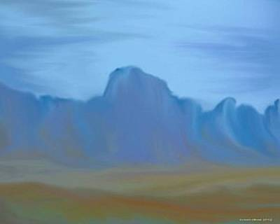 Canadian Foothills. Art Print