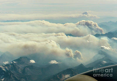 Photograph - Canadian Forest Fires by Rod Jones