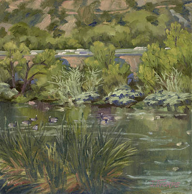 Painting - Canadian Geese La River by Jane Thorpe