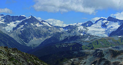 Photograph - Canadian Glacier Summer Time by Walter Fahmy