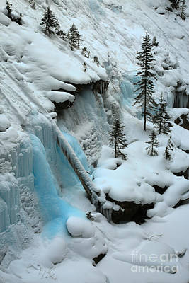Photograph - Canadian Icy Blue by Adam Jewell