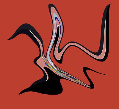 Digital Art - Canadian by Iris Gelbart