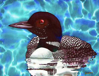 Parrot Art Painting - Canadian Loon by Daniel Jean-Baptiste