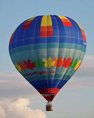 Photograph - Canadian Montgolfiere  by Tatiana Travelways