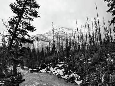 Photograph - Canadian Mountain Scene by Unsplash