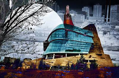 Photograph - Canadian Museum For Human Rights by Julius Reque