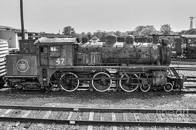 Photograph - Canadian National #47 by Anthony Sacco