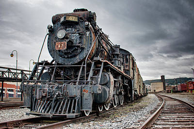 Photograph - Canadian National Locomotive 47 by Kristia Adams