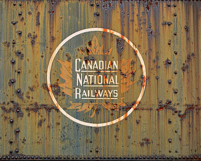 Photograph - Canadian National Railways  by Kristia Adams
