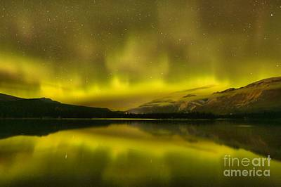 Photograph - Canadian Northern Lights by Adam Jewell