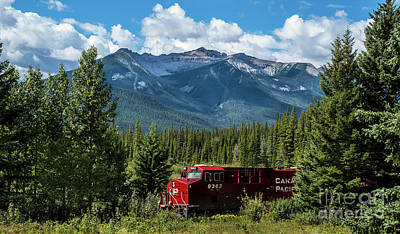 Photograph - Canadian Pacific by Bianca Nadeau