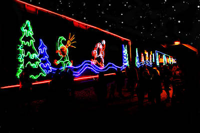 Photograph - Canadian Pacific Holiday Train by Kathy M Krause