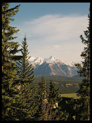 Photograph - Canadian Rockies by Elisabeth Dubois