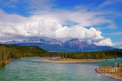 Photograph - Canadian Rockies From Alaskan Highway by David Arment