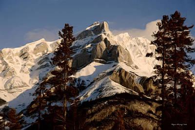 Canadian Rockies II Art Print by Wayne Bonney