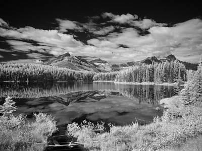 Mellow Yellow - Canadian Rockies IR 0827 by Bob Neiman