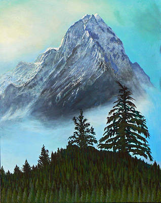 Painting - Canadian Rockies by Lawrence Holofcener