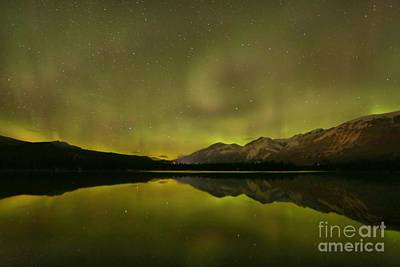 Photograph - Canadian Rockies Light Show by Adam Jewell