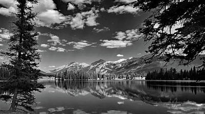 Black And White Photograph - Canadian Rockies No. 4-2 by Sandy Taylor
