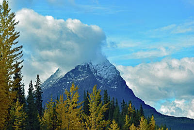 Photograph - Canadian Rockies No. 6-1 by Sandy Taylor